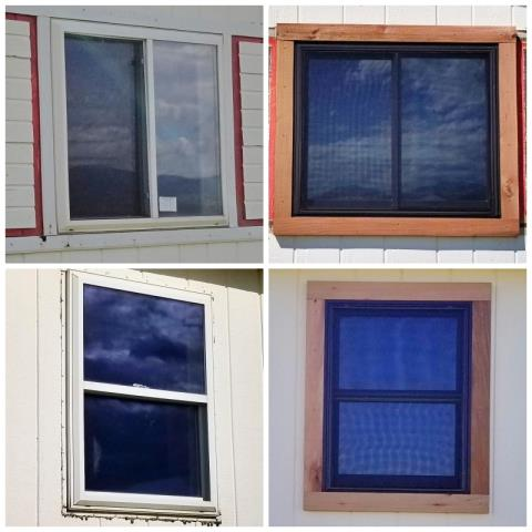 Drummond, MT - This Drummond home upgraded their old windows to Renewal by Andersen Fibrex.