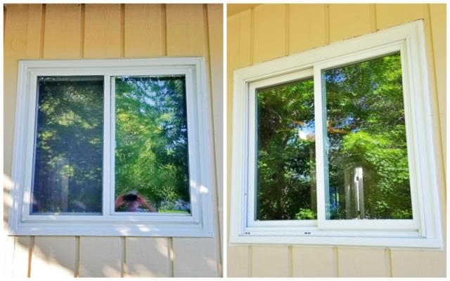 Rapid City, SD - This Rapid City home replaced a combination of original wood clad and vinyl replacement windows with Renewal by Andersen Fibrex composite windows.