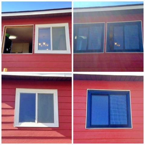 Hanna, WY - This Hanna home replaced their old windows and went with a new color scheme!  We love the face-lift and efficiency our Renewal by Andersen Fibrex windows added to this home.