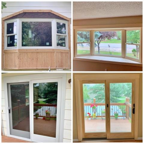 Helena, MT - This Helena home replaced their windows and patio door with Renewal by Andersen Fibrex products.