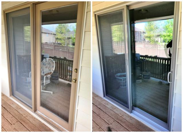 Laramie, WY - This Laramie home upgraded their patio door to a Renewal by Andersen Fibrex slider.