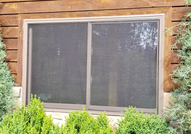 Custer, SD - This happy repeat customer in Custer had their 3rd and final phase completed on their home, replacing the last of their windows with Renewal by Andersen Fibrex frame glider windows.
