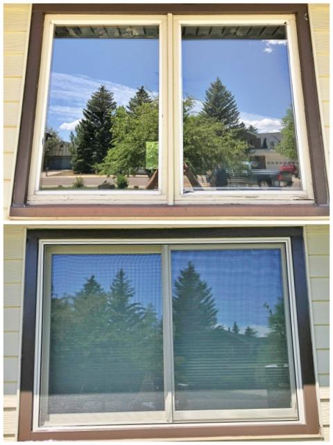 Laramie, WY - This Laramie home upgraded their old wooden windows to Renewal by Andersen Fibrex.