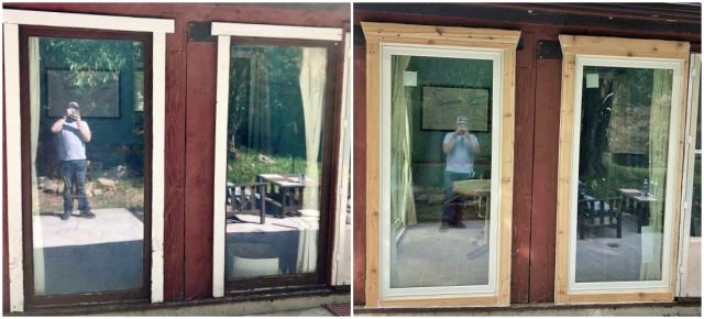 Shoshoni, WY - This Shoshoni home upgraded their windows to Renewal by Andersen Fibrex.