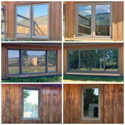 Cody, WY - This Cody home upgraded their old windows to new Renewal by Andersen Fibrex, increasing their clarity and efficiency!