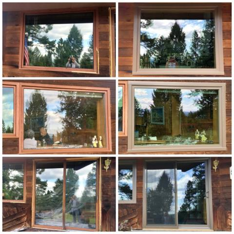 Seeley Lake, MT - This Selley Lake home replaced two windows and a leaky, rotting door with Renewal by Andersen products.