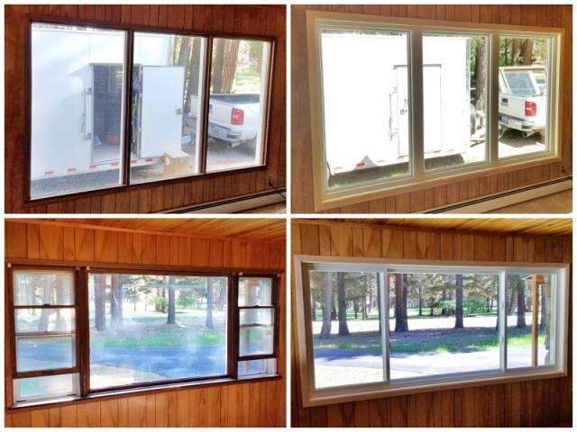 Lincoln, MT - This Lincoln home upgraded their windows to Renewal by Andersen Fibrex.