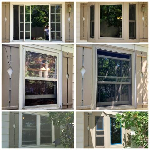 Casper, WY - This Casper home upgraded their old windows to Renewal by Andersen Fibrex windows, including two new bays!