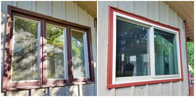 Missoula, MT - This Missoula home upgraded their old wooden windows to Renewal by Andersen Fibrex.