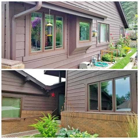 Rapid City, SD - This Rapid City home upgraded their windows to Renewal by Andersen Fibrex, increasing curb appeal and efficiency.