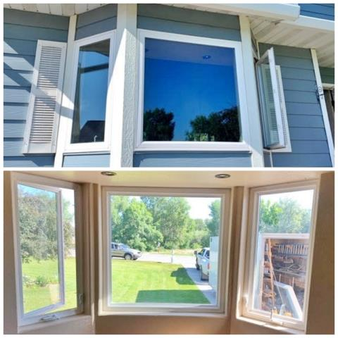 Helena Valley West Central, MT - This Helena home upgraded their windows to Renewal by Andersen Fibrex windows.