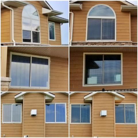 Rapid City, SD - This Rapid City home upgraded their old windows to Renewal by Andersen Fibrex windows.
