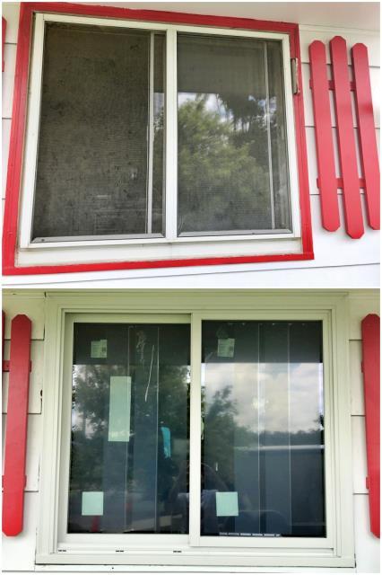 Pine Bluffs, WY - This Pine Bluffs home upgraded their windows to Renewal by Andersen Fibrex windows.