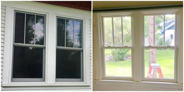 Columbus, MT - This Columbus home upgraded their windows to Renewal by Andersen Fibrex windows.
