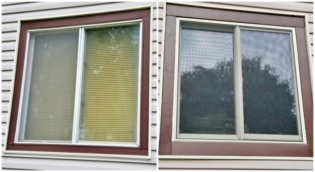 Rapid City, SD - This happy returning customer replaced their old leaky wood-clad window in their home with a Renewal by Andersen Fibrex glider.
