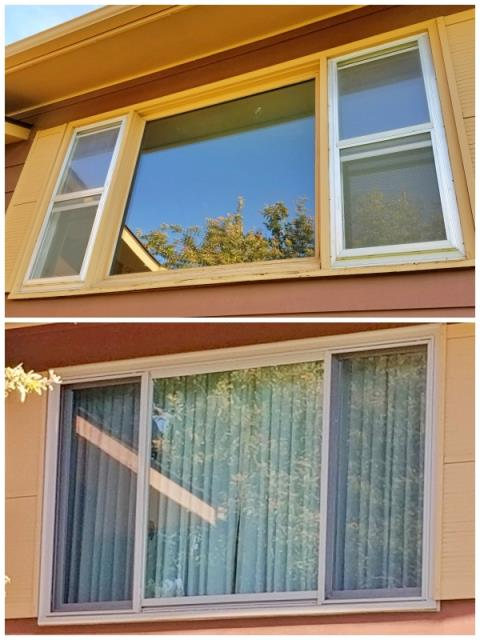 Rapid City, SD - This Rapid City repeat customers replaced their old wood-framed window with a new Renewal by Andersen Fibrex window.