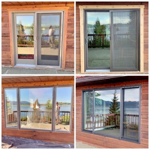 Anaconda, MT - This Anaconda home upgraded their windows and doors to Renewal by Andersen Fibrex products, enhancing their already beautiful views, along with their efficiency and resale value.