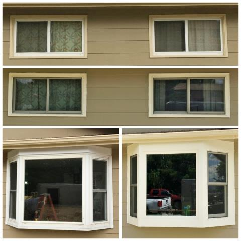 Douglas, WY - This Douglas home replaced their vinyl windows with Fiberex windows from Renewal by Anderson of Wyoming.