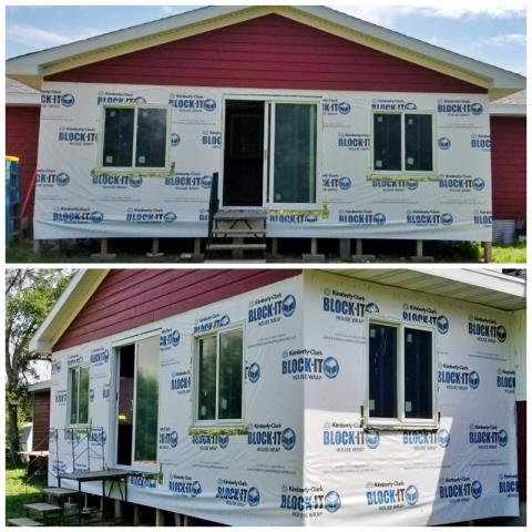 Pierre, SD - This Pierre home chose Renewal by Andersen Fibrex windows and a patio door for their remodel project.