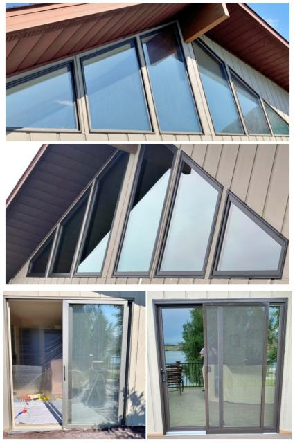 Helena, MT - This Helena lake house upgraded their windows and patio doors to Renewal by Andersen Fibrex products.