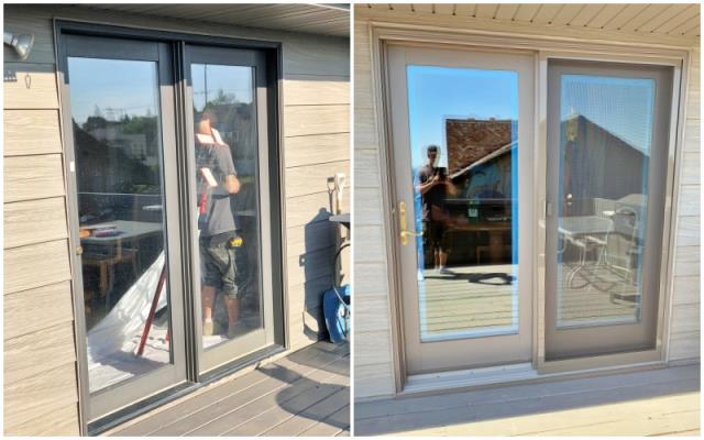Great Falls, MT - This Great Falls home upgraded their patio door to Renewal by Andersen Fibrex.