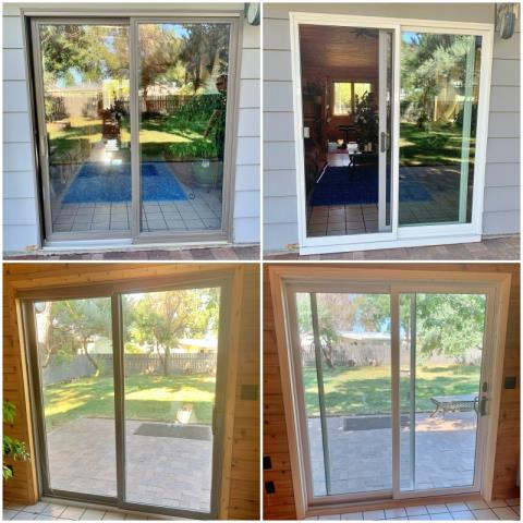 Great Falls, MT - This Great Falls home replaced their patio door with a Renewal by Andersen perma-shield gliding patio door.
