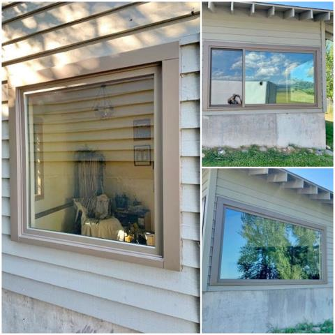 Bozeman, MT - This Bozeman home upgraded their windows to Renewal by Andersen Fibrex, increasing clarity, visual appeal, and energy efficiency.