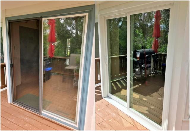 Cheyenne, WY - This Cheyenne home upgraded their old patio door to a Renewal by Andersen Fibrex.