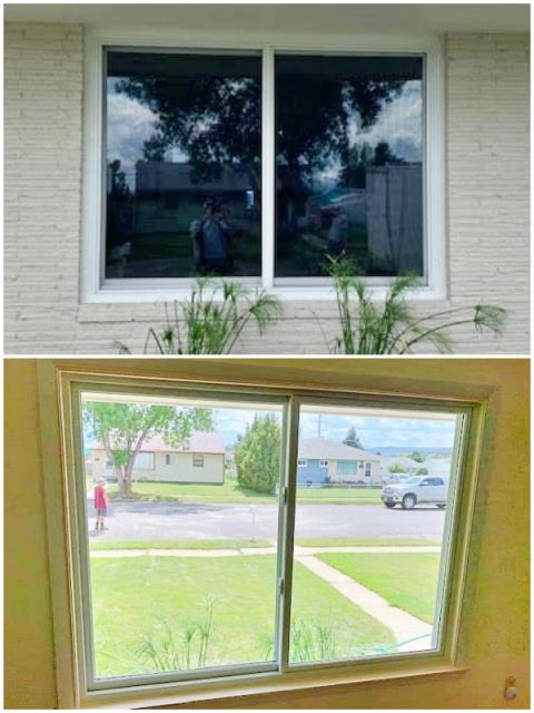 Butte, MT - This Butte home upgraded their old windows to Renewal by Andersen Fibrex.