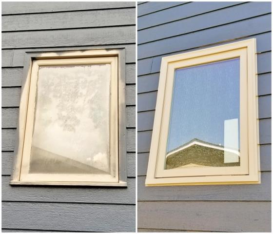 Rapid City, SD - This Rapid City home replaced their 1980's rotten wood-clad windows with Renewal by Andersen Fibrex composite frame maintenance free windows.