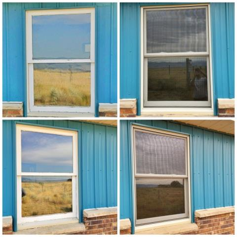 Lander, WY - This home replaced their old wood-frame windows with new Renewal by Andersen Fibrex windows.