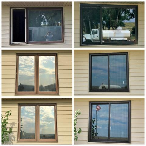Buffalo, WY - This Buffalo home upgraded their old windows to new Renewal by Andersen Fibrex windows.