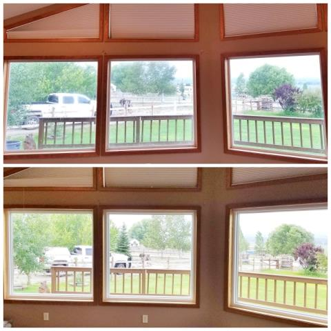 Corvallis, MT - This Corvallis home upgraded their windows to Renewal by Andersen Fibrex, increasing their clarity and efficiency.