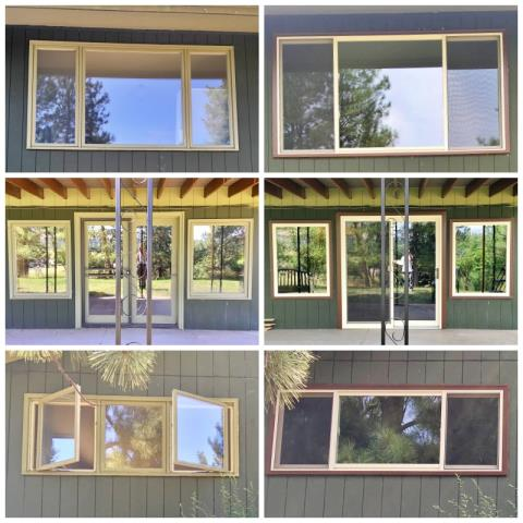 Lolo, MT - This Lolo home upgraded their windows to Renewal by Andersen Fibrex windows, giving it an updated, sharp look we love!