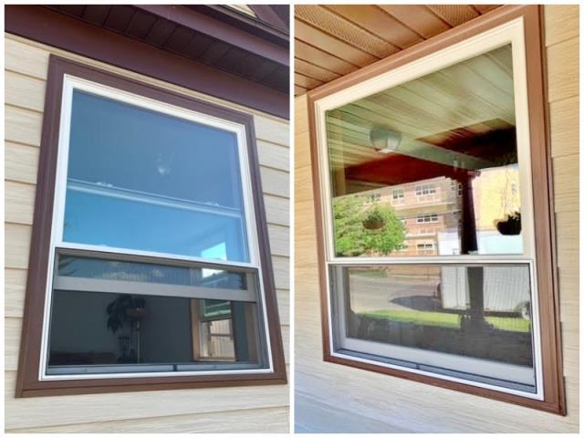 Anaconda, MT - This Anaconda home upgraded their old windows to Renewal by Andersen Fibrex.