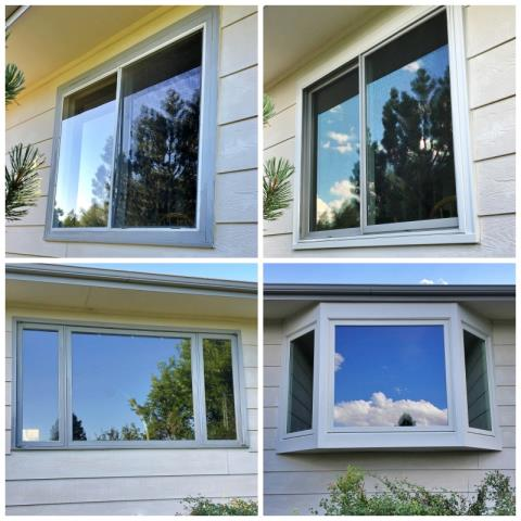 Casper, WY - This Casper home upgraded their windows to Renewal by Andersen Fibrex, even converting one to a bay!