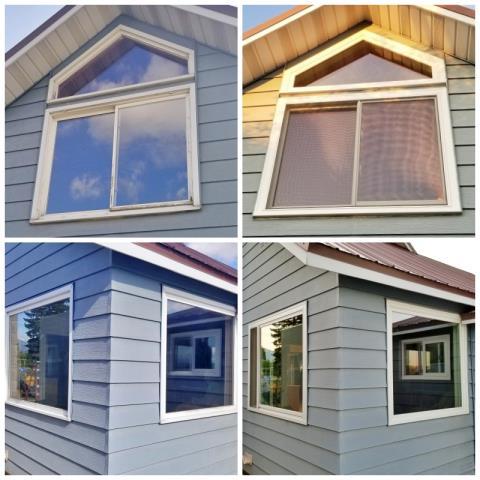 Deer Lodge, MT - This Deer Lodge home upgraded their windows to Renewal by Andersen Fibrex, increasing clarity, efficiency and curb appeal!