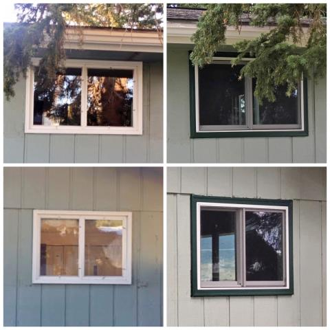 Butte, MT - This Butte home upgraded their old windows to Renewal by Andersen Fibrex windows.