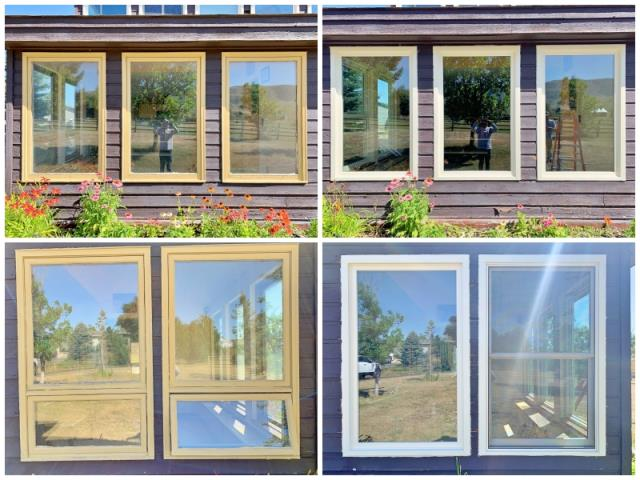 Casper, WY - This Casper home upgraded their old windows to Renewal by Andersen Fibrex windows, increasing efficiency and curb appeal.
