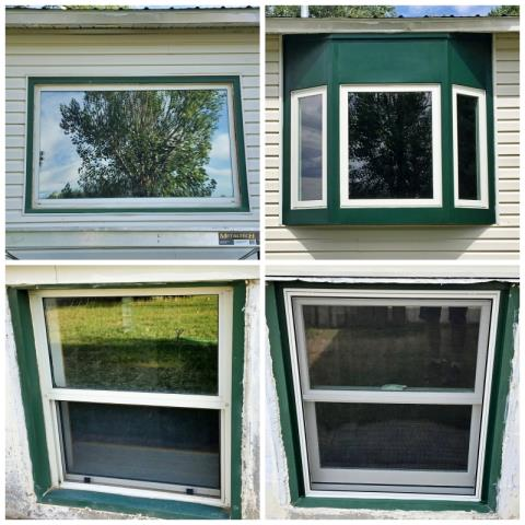 Riverton, WY - This Riverton home upgraded their old windows to Renewal by Andersen Fibrex windows.