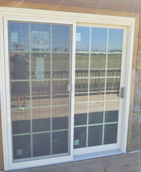 Cheyenne, WY - This Cheyenne home chose Renewal by Andersen for their new patio door, increasing their curb appeal and energy efficiency.