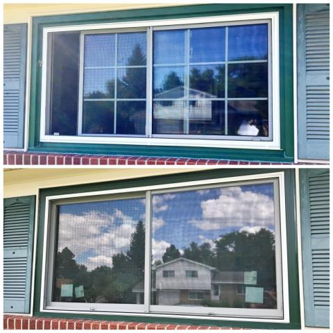 Cheyenne, WY - This Cheyenne home replaced their old windows with new Renewal by Andersen Fibrex windows, enhancing their energy efficiency!