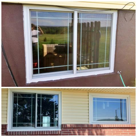 Gering, NE - This Gering, NE home chose Renewal by Andersen Fibrex windows to enhance their energy savings and curb appeal.