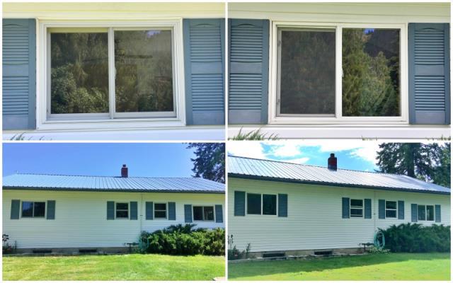 Troy, MT - This Troy home updated their vinyl windows to Renewal by Andersen Fibrex, increasing their energy efficiency.