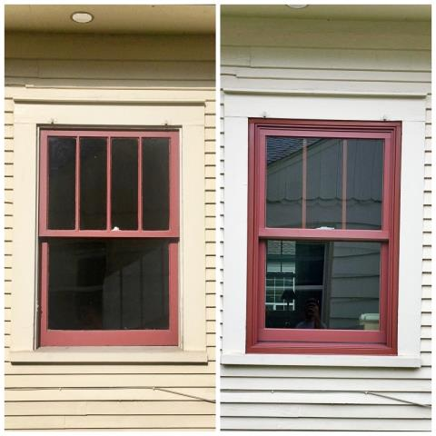 Missoula, MT - This Missoula home replaced their old windows with Renewal by Andersen Fibrex windows.