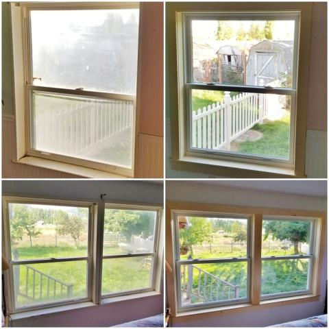 Missoula, MT - This Missoula home updated their old windows with Renewal by Andersen Fibrex windows, increasing clarity and efficiency.
