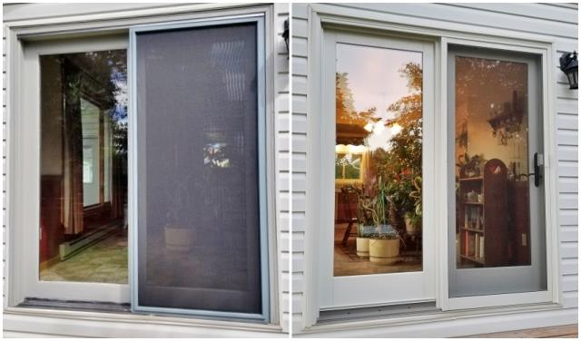 Gillette, WY - This Gillette home upgraded their old patio door to a Renewal by Andersen Fibrex slider.