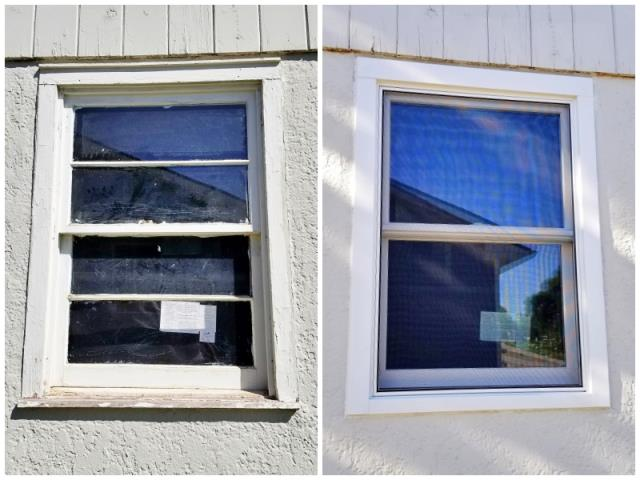 Rapid City, SD - This Rapid City home replaced their old wood-clad windows with new Renewal by Andersen Fibrex windows, increasing efficiency, curb appeal, and home value!