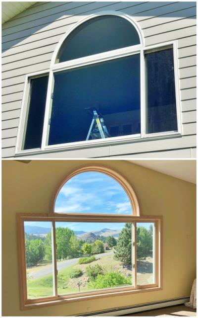 Clancy, MT - This Montana City home upgraded their windows to Renewal by Andersen Fibrex, increasing clarity and efficiency.