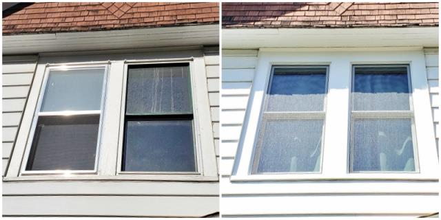 Billings, MT - This Billings home upgraded their old single-pane windows with Renewal by Andersen Fibrex windows.